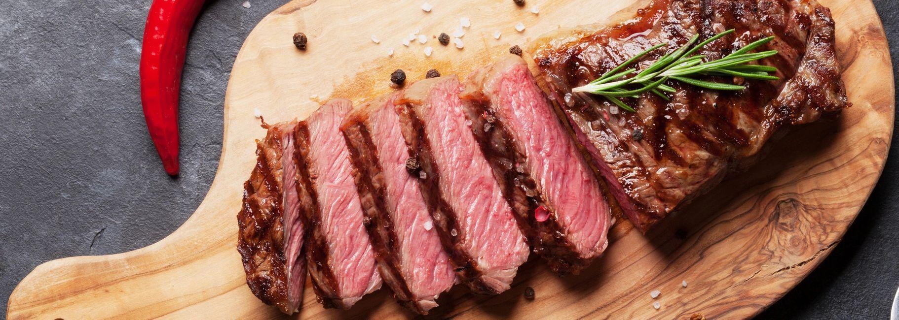 Lemon & Garlic Marinated Flat Iron Steak