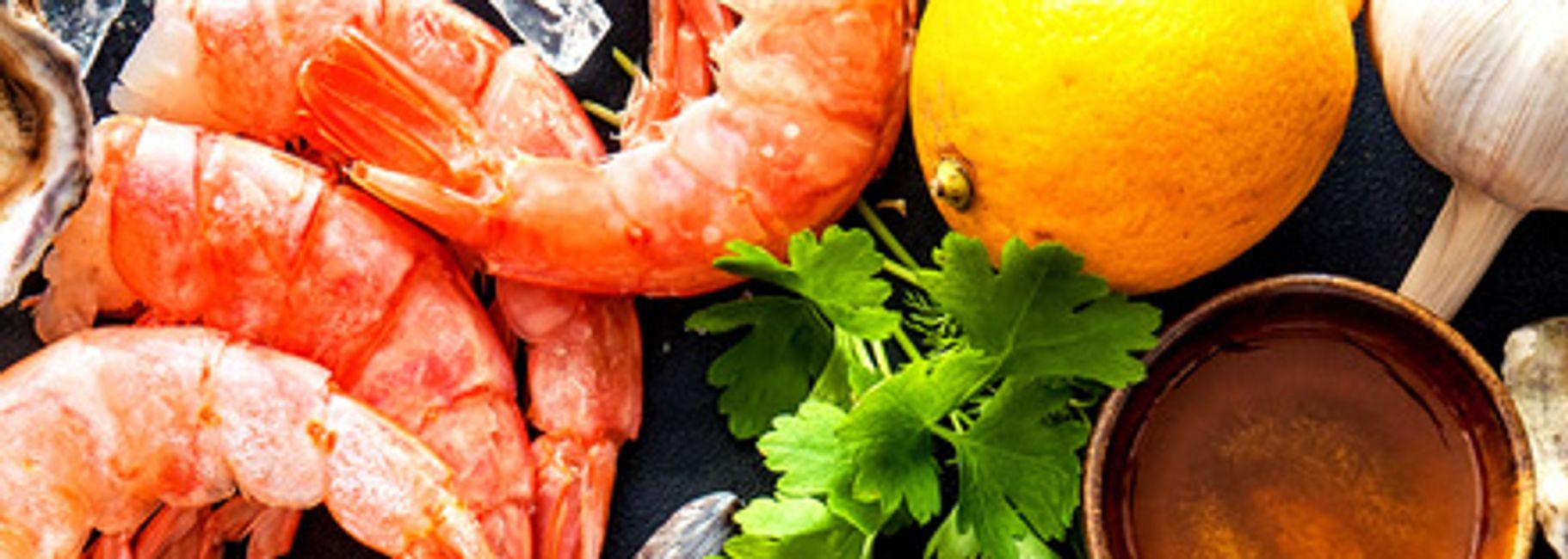 Shrimp & Avocado Taco Salad