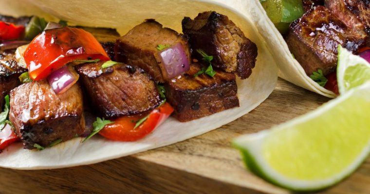 Grilled Pork Belly Tacos