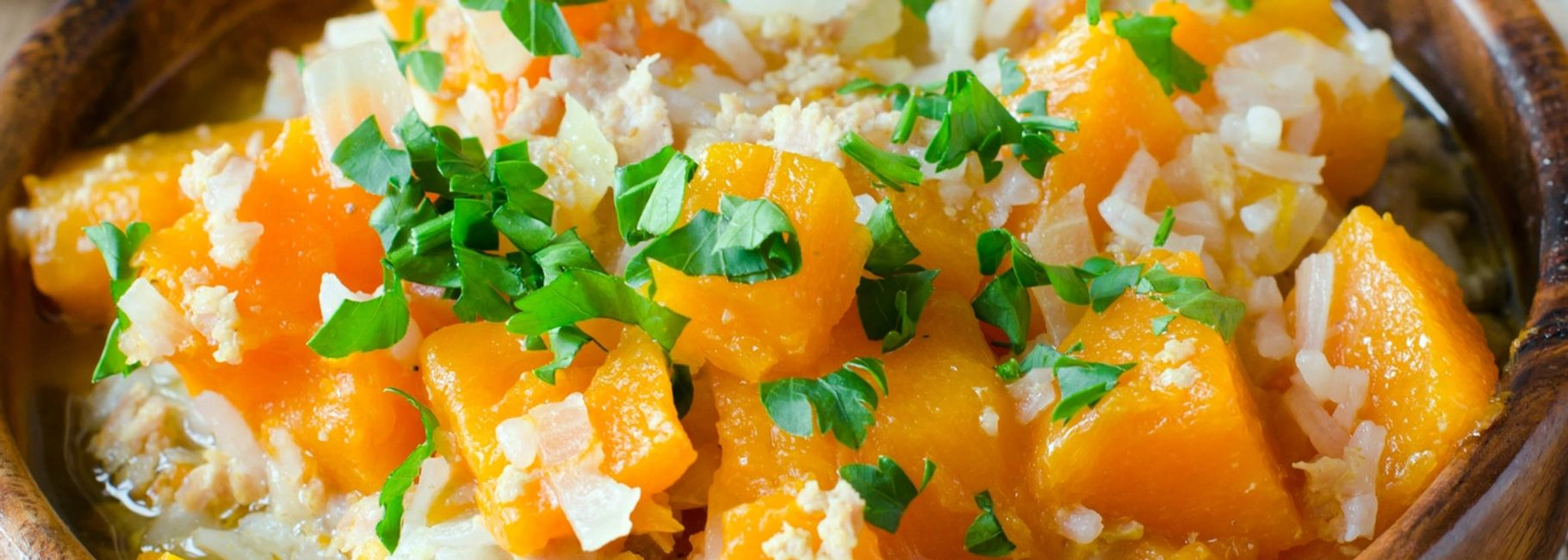 Penne with Butternut Squash & Goat Cheese