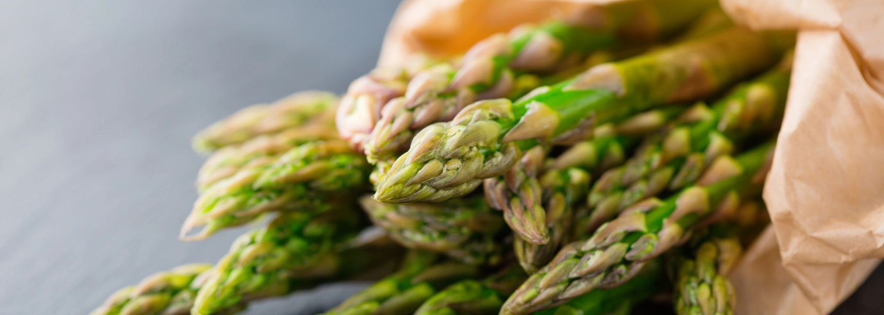 Asparagus with Scallops Browned Butter & Prosciutto
