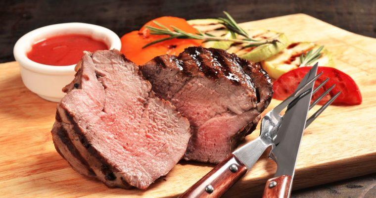 Roast Beef Tenderloin in a Dry Rub Crust