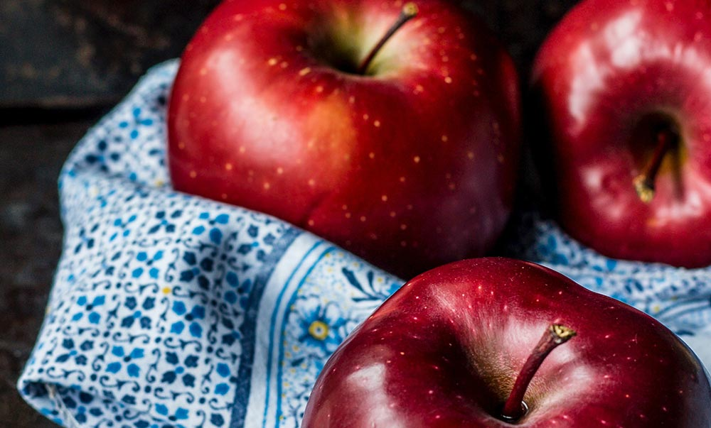 Two apples a day . . .