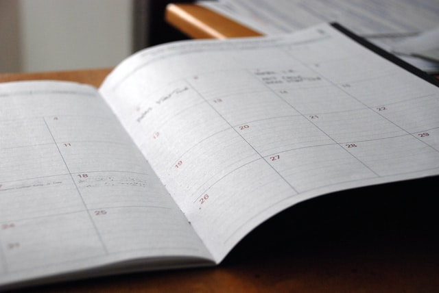 A good strategy for creating content is to have a social media schedule.