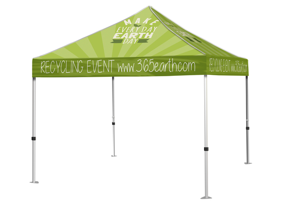 10x 10 Event Tent Canopy Graphic