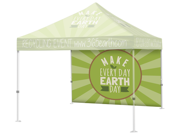 10′ Event Tent Full Wall