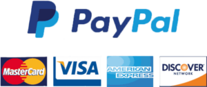 PayPal Cards Accepted