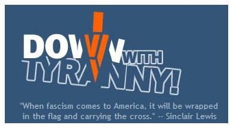 Down With Tyranny logo 06132010