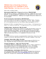 2016-01-06 Alzheimer Societys available programs and services