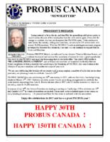 2017-02 PROBUS Canada Newsletter