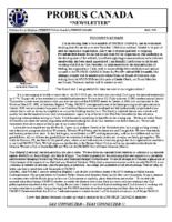 2019-05 PROBUS Canada Newsletter