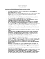 2019-11-12 268 Meeting Notes