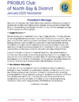 2020-01 North Bay & District newsletter