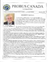 2021-09 PROBUS Canada newsletter