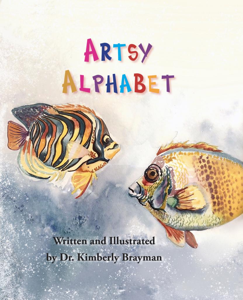 Artsy Alphabet Book Cover