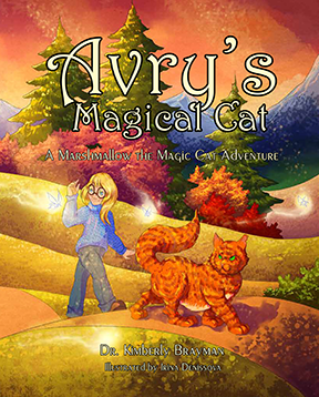 Avry's Magical Cat book cover