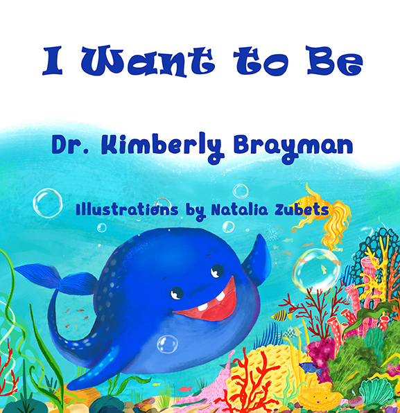 Illustrated book, I want to be