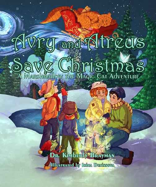 Avry and Atreus Save Christmas, Book cover