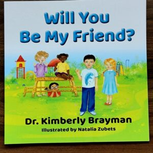 Will You Be My Friend Book