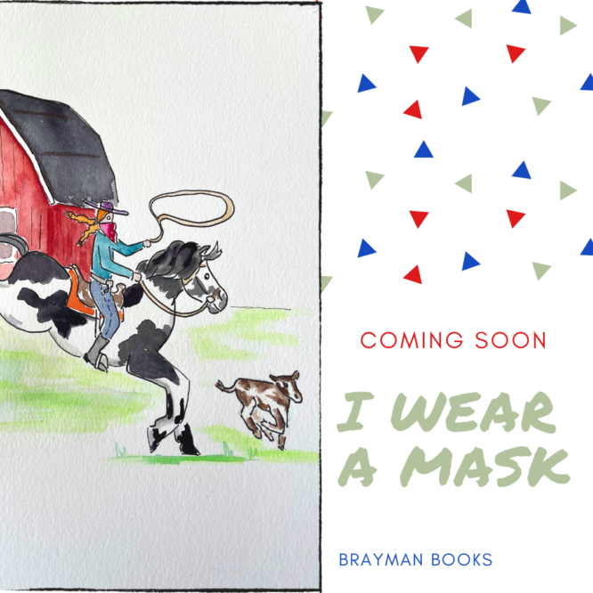 I Wear a Mask Blog Cover | Brayman Books