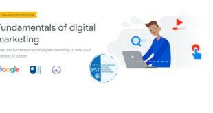 Formation de la certification Google Digital Garage Fondamentaux du marketing numérique