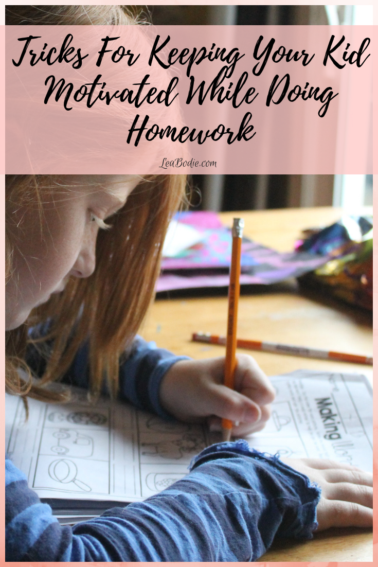 Tricks for Keeping Your Kid Motivated While Doing Homework