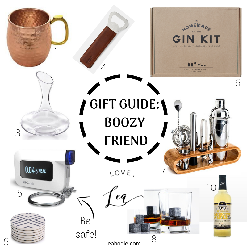 Boozy Friend's Gift Guide