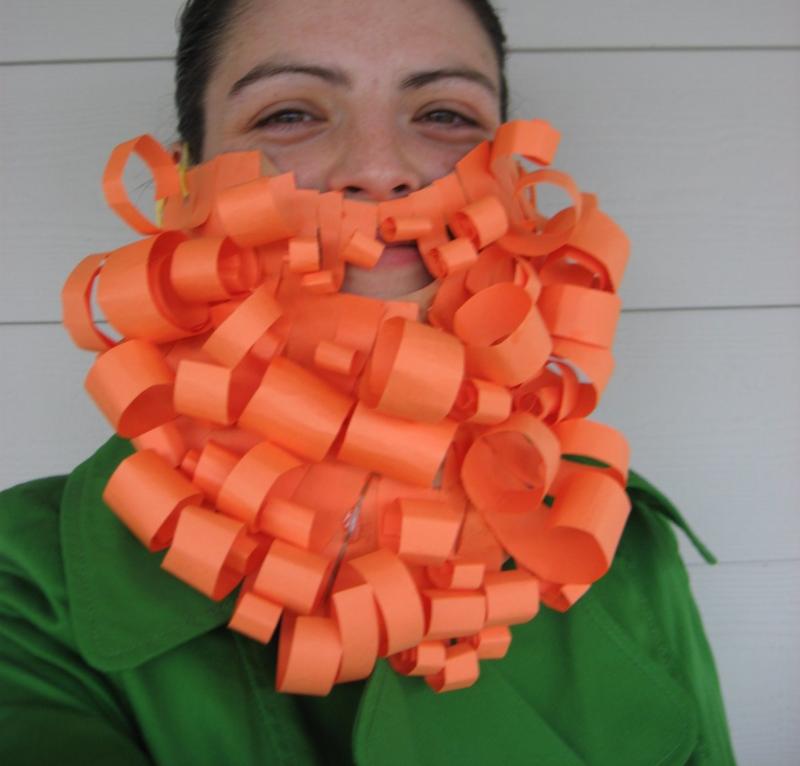 No Time for Flashcards' Leprechaun Beard