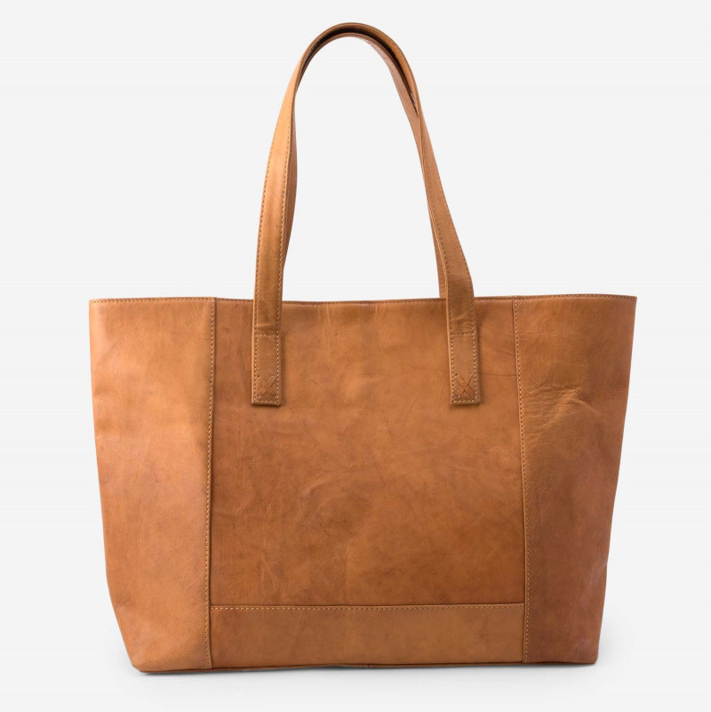 Noonday Collection Modern Leather Tote