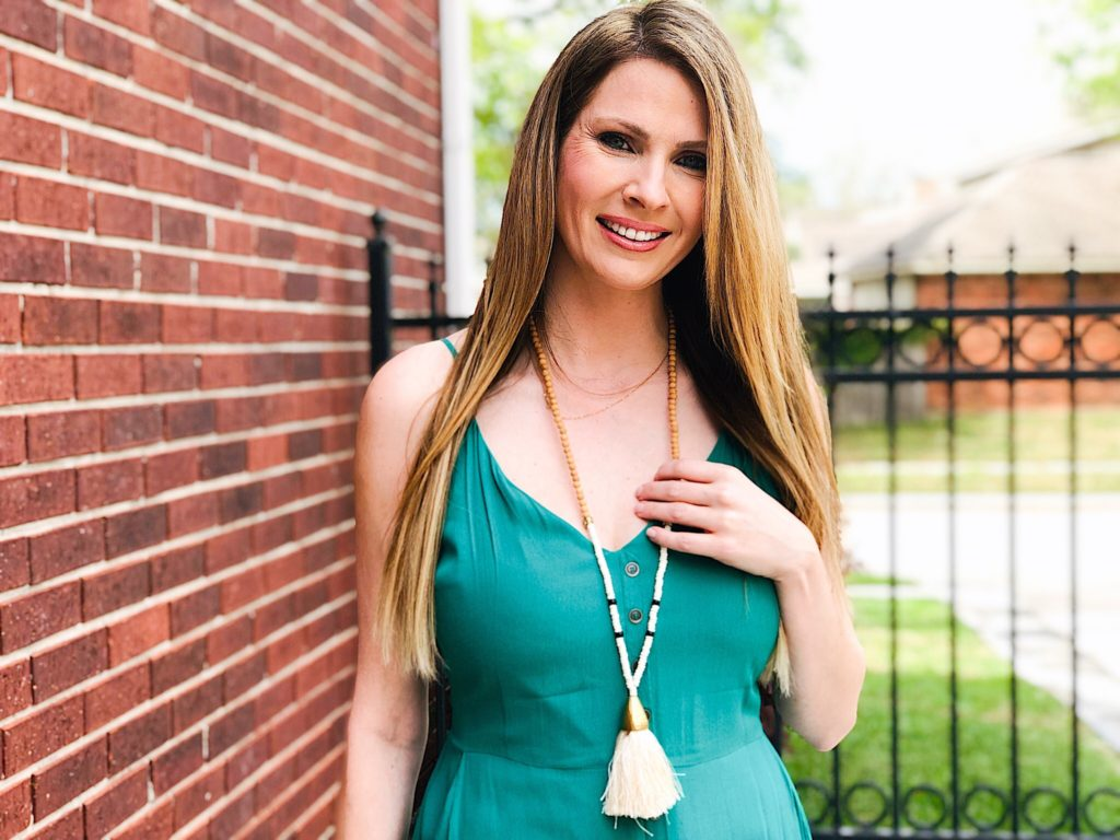 Tassel Necklace from Noonday Collection