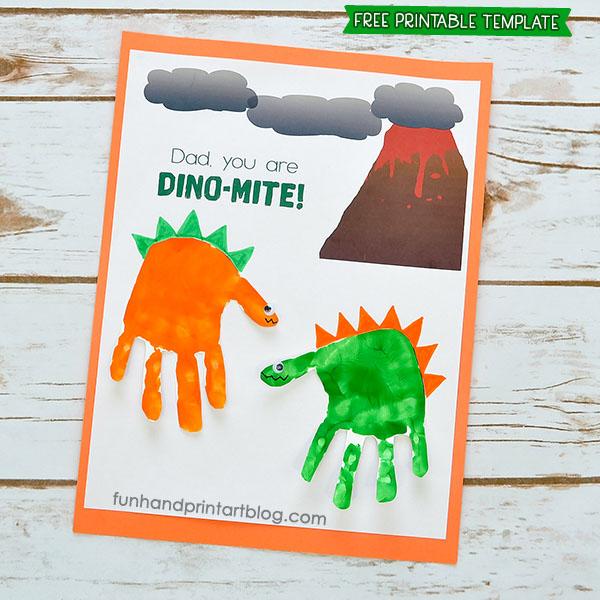 Dad, You're Dinomite Card