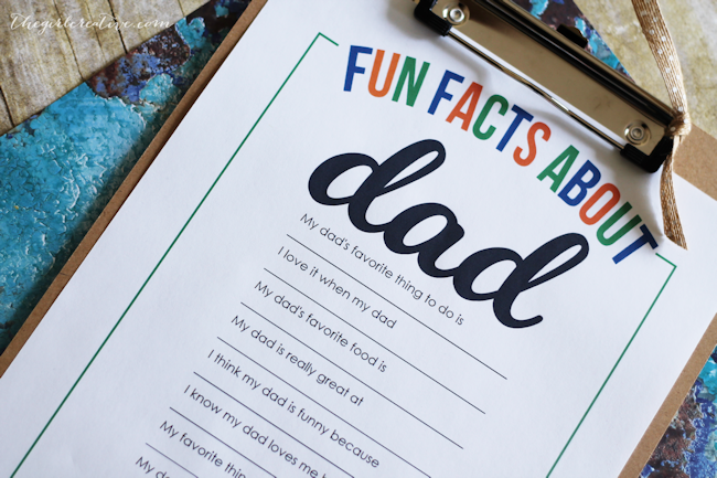Fun Facts About Dad