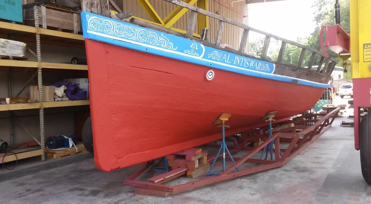 Viking Boat - Polyurea Coatings