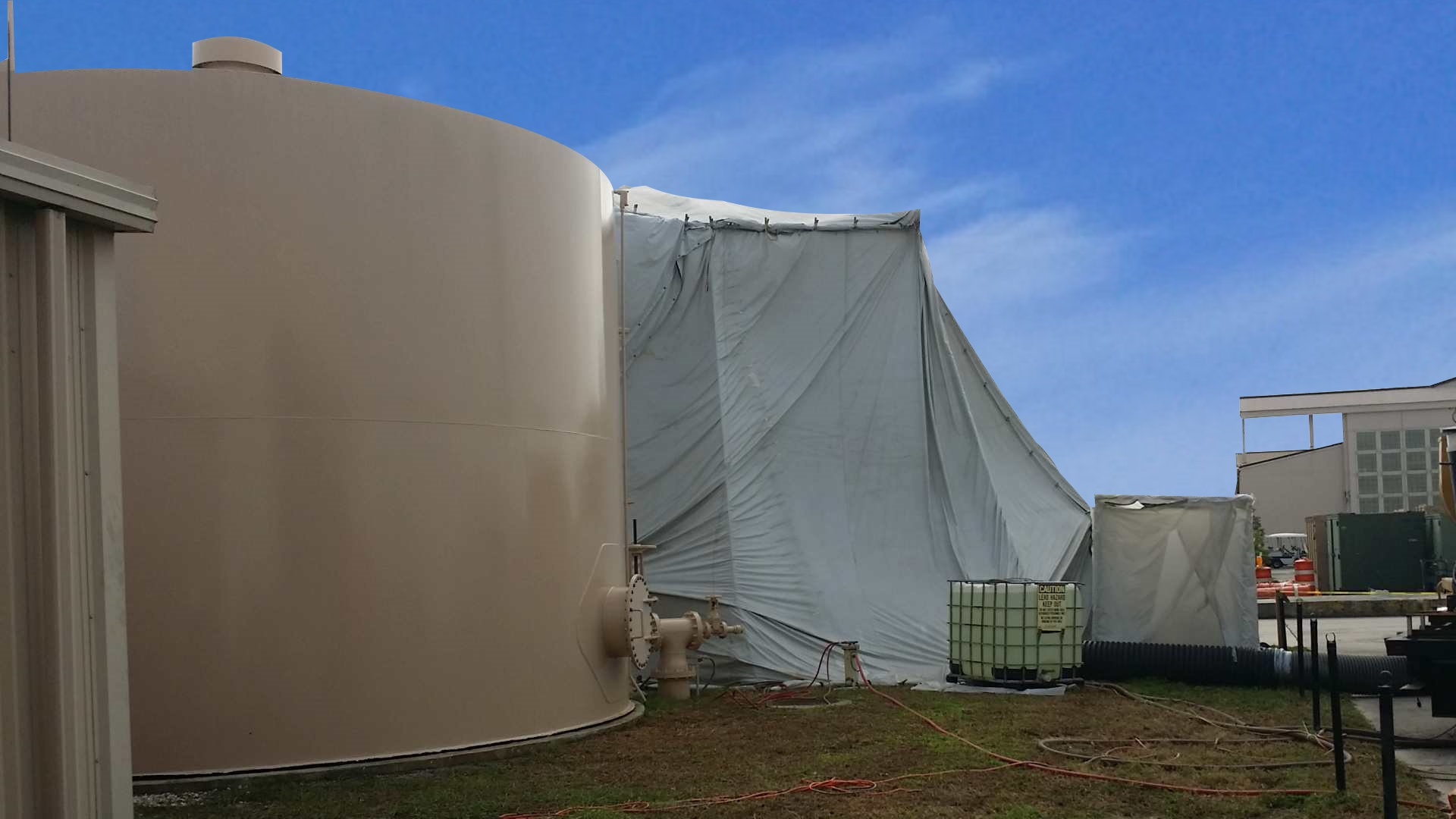 Patrick Air Force Base Tank Containment
