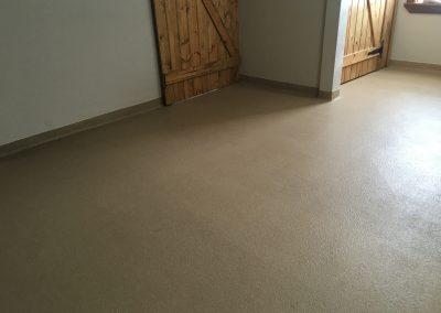 Floor Coatings - Color Quartz Broadcast System