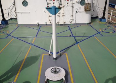 Floor Coatings - USCGC Gallatin Deck Floor