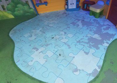 Floor Coating - WDW - Doc McStuffins Show Area
