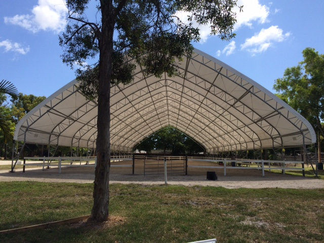 Now Featuring our new covered riding ring