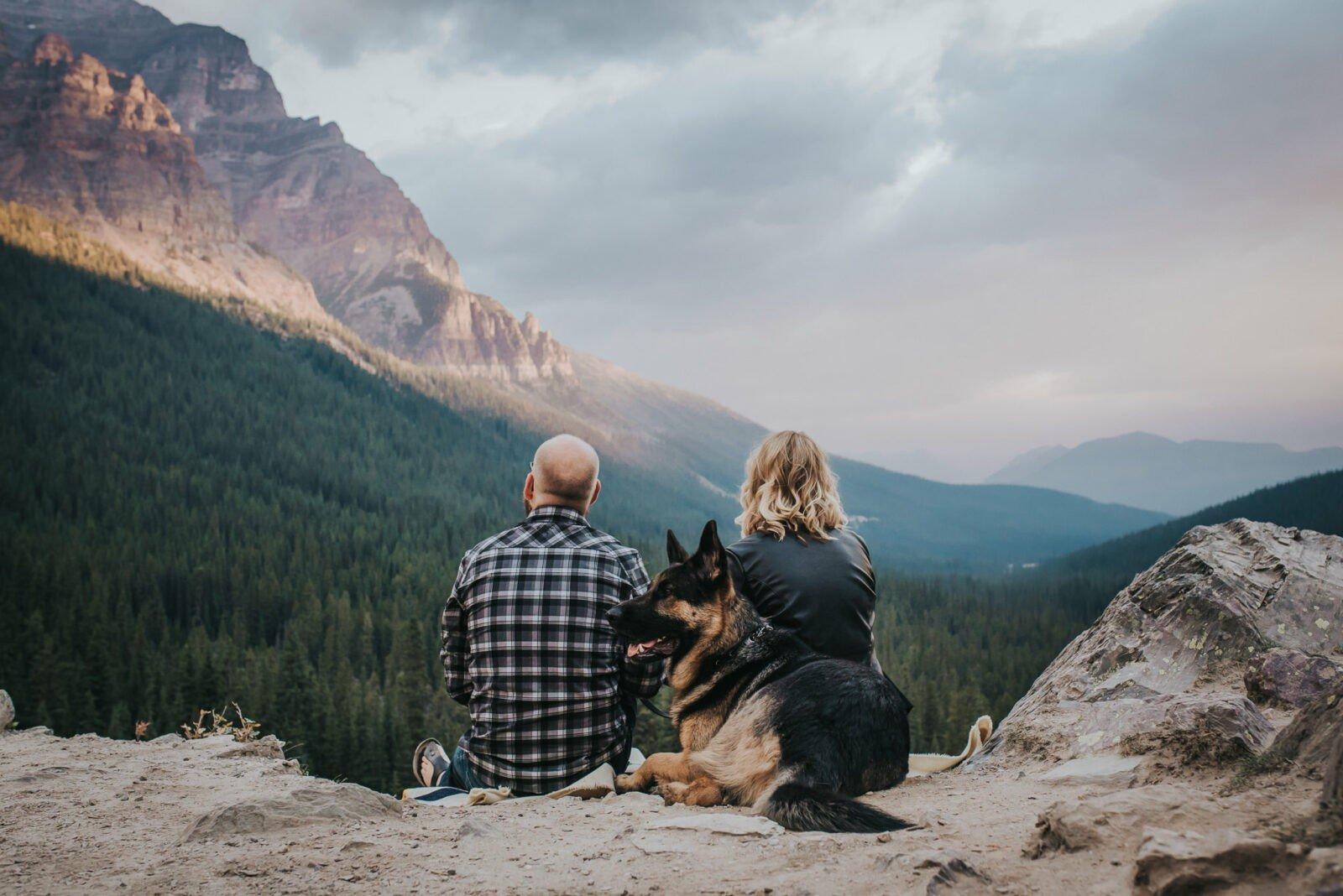 Sunrise Mountain engagement session