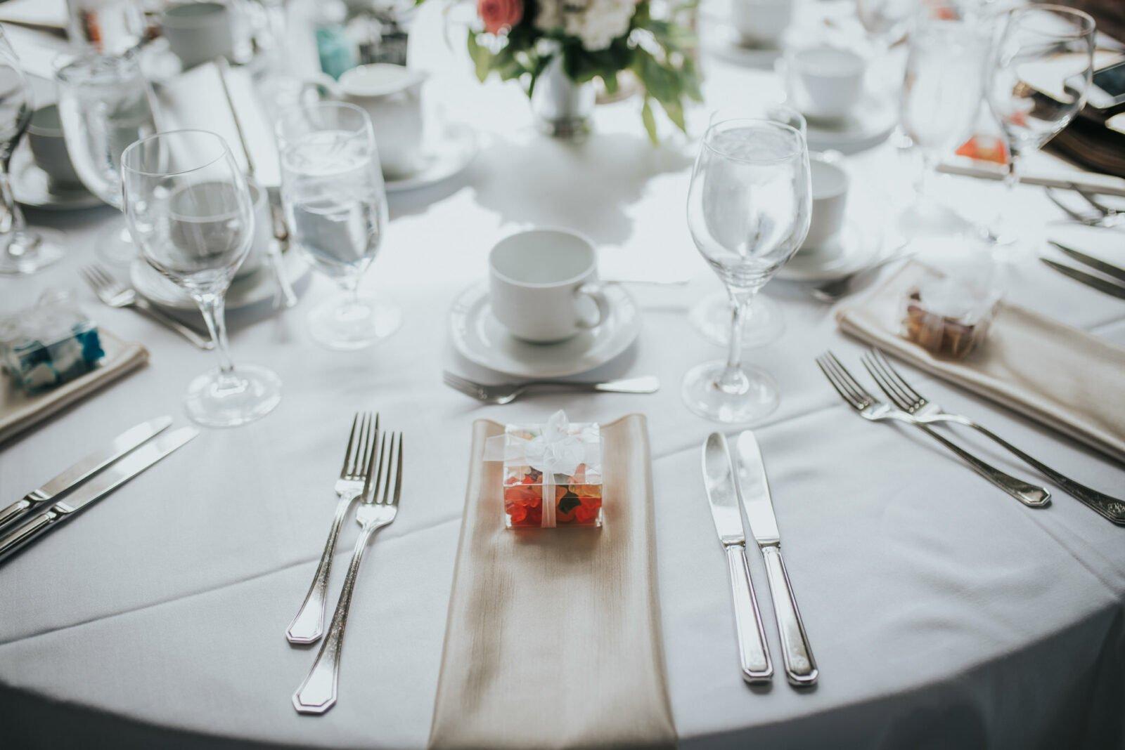 fairmont hotel macdonald wedding reception
