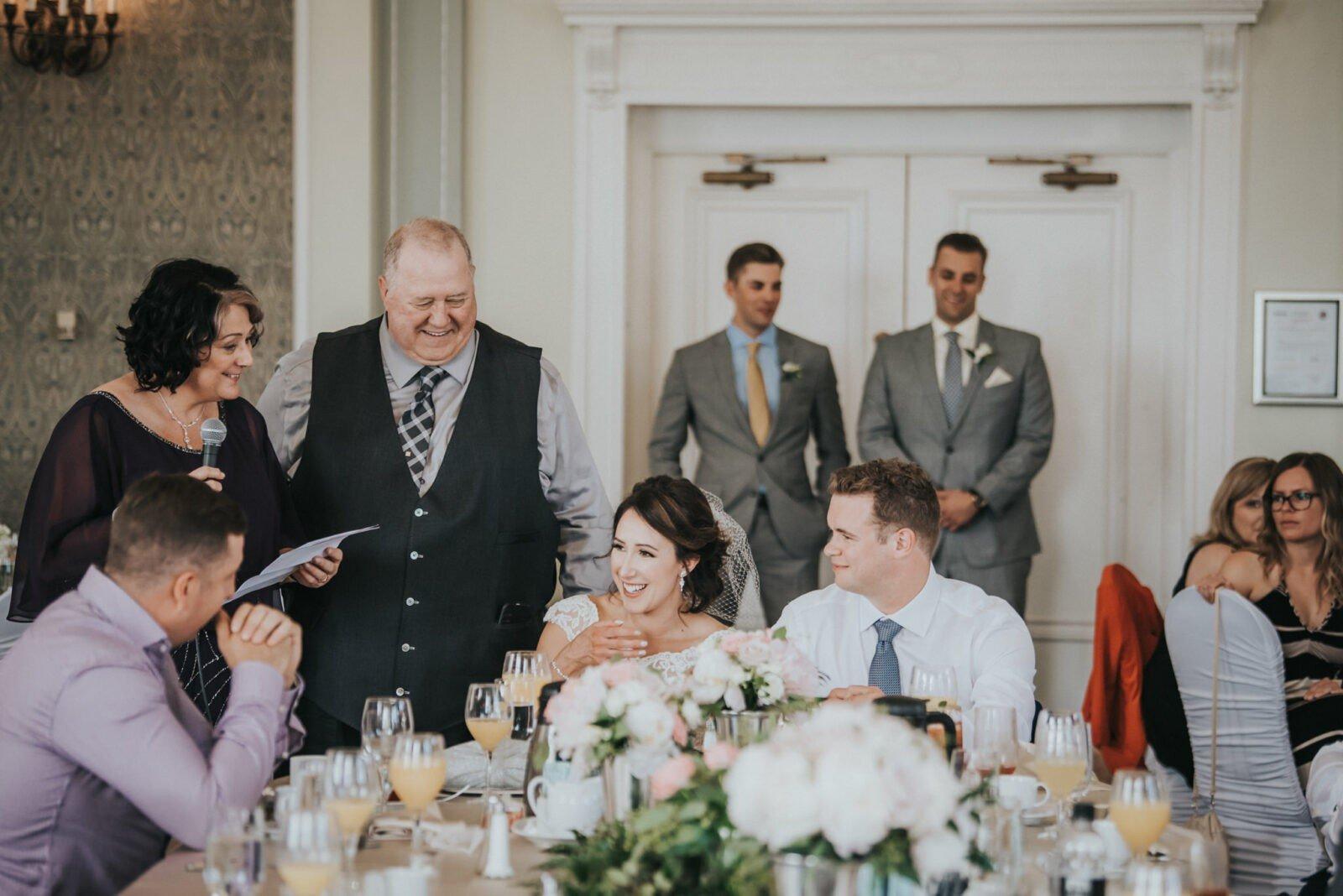 wedding reception speaches
