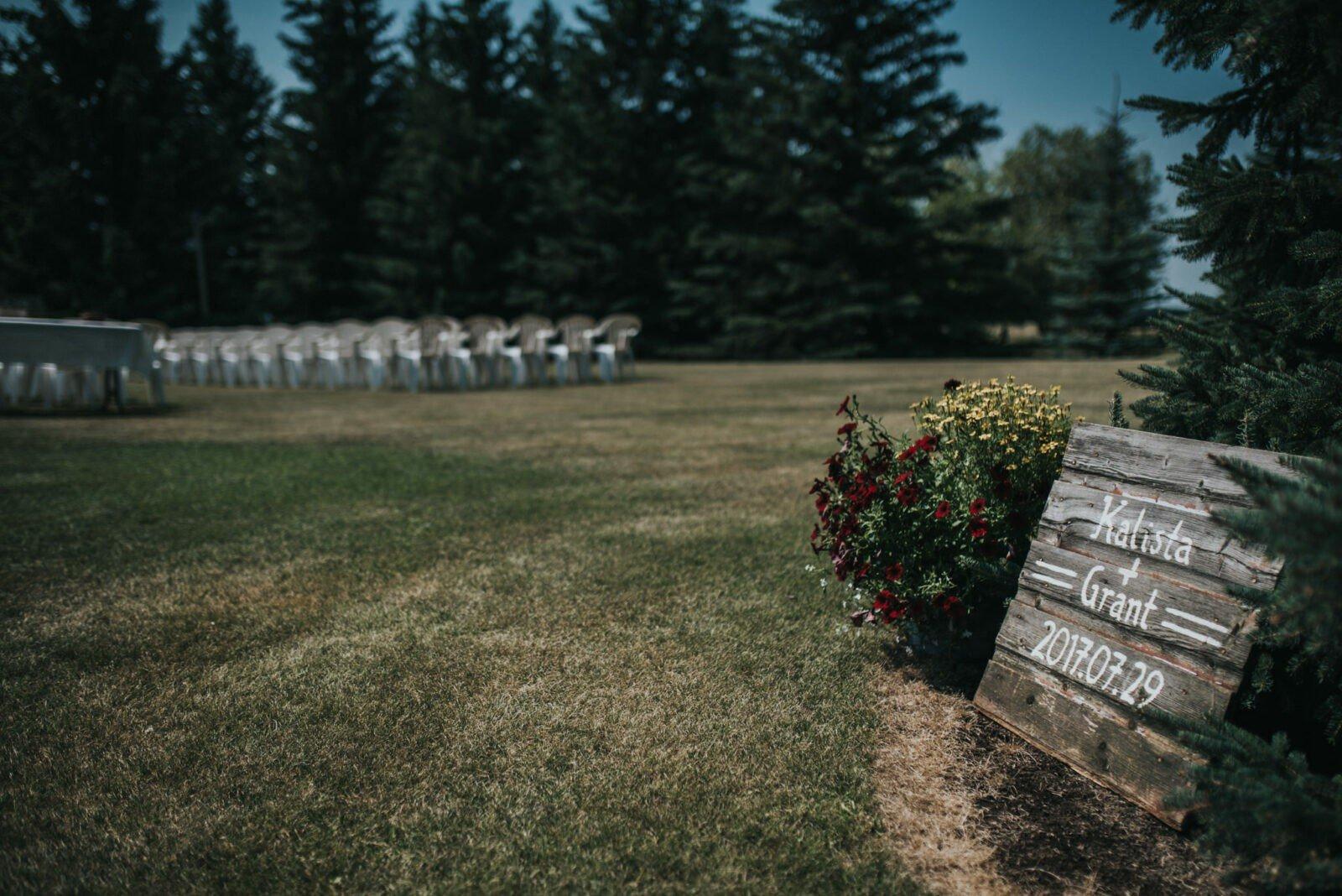 alberta country wedding photography
