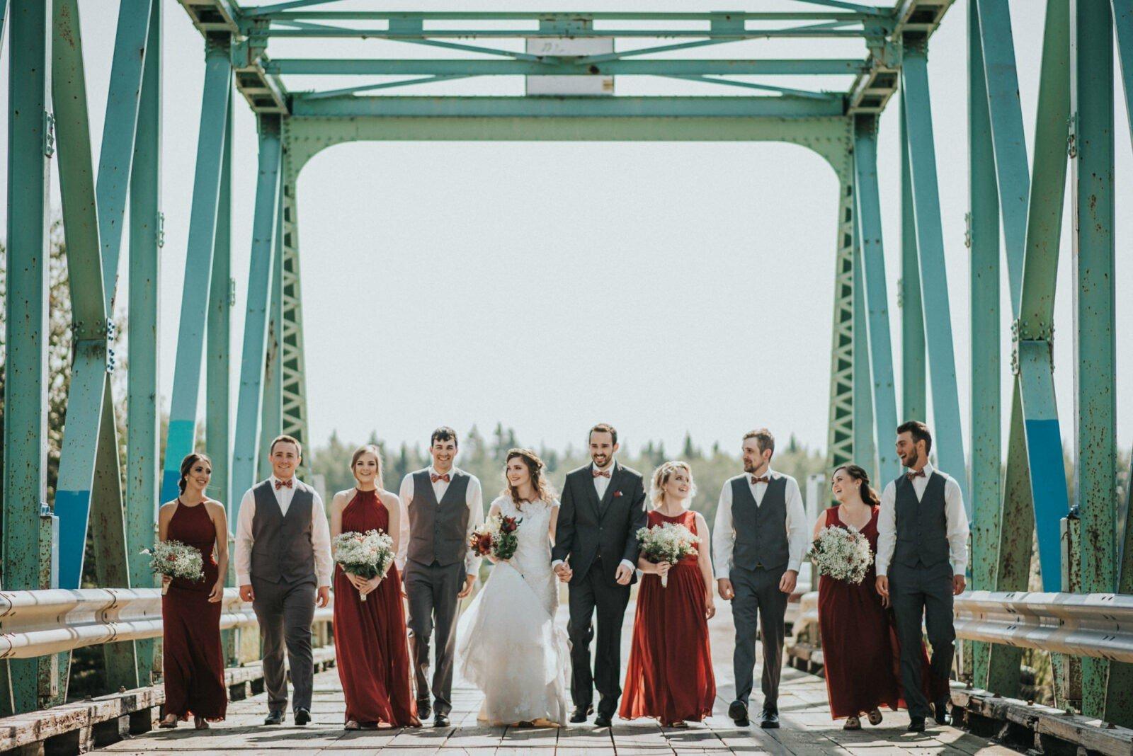 central alberta wedding ceremony