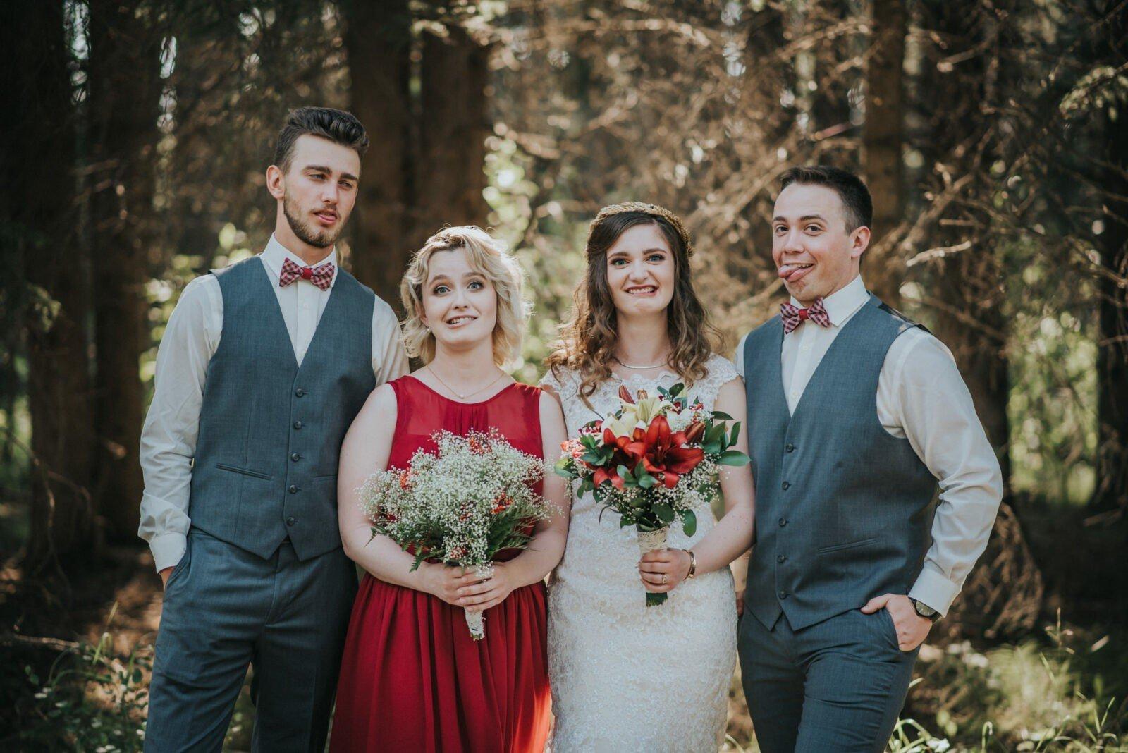 central alberta wedding photography