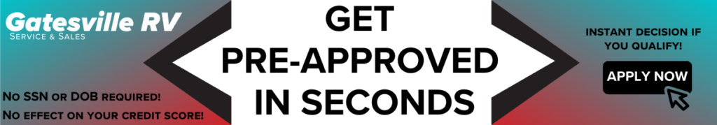 Get approved on a new RV