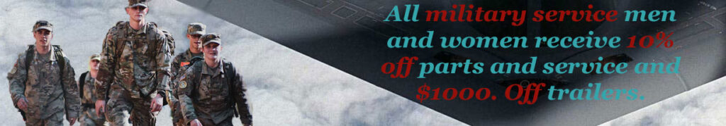 Military Discount at Gatesville RV Service and Sales
