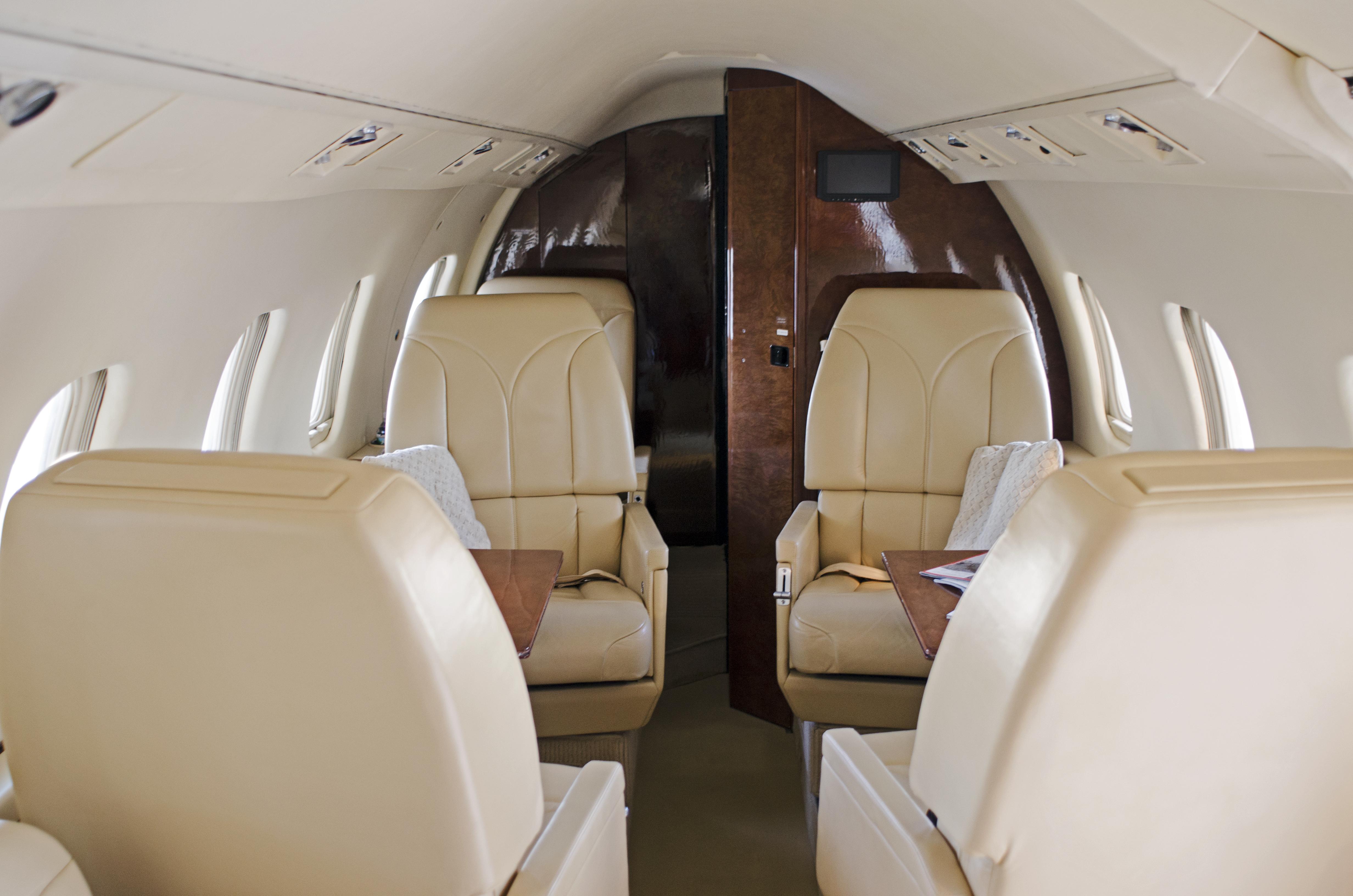 Lear 55-2 Interior Aft