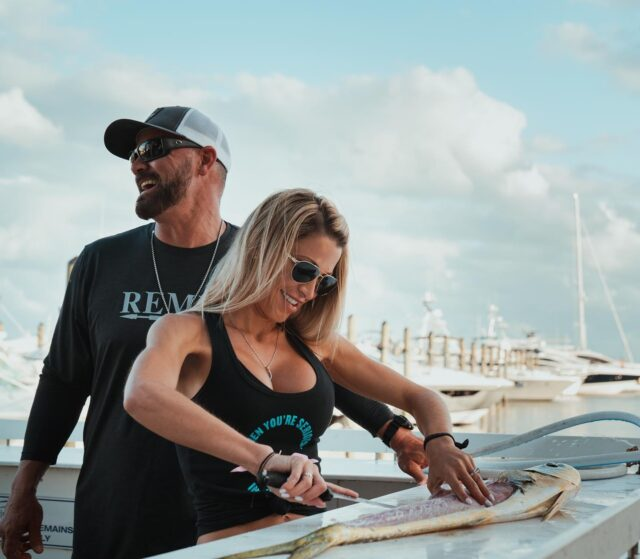 Storytelling is our favorite thing to do here at Draft. Thank you @invincibleboats for trusting us to tell this story of love and success featuring Capt JC Cleare & Sarah Melia, founders of @invincibleproteam305_remix  Check out out the full film at link in bio