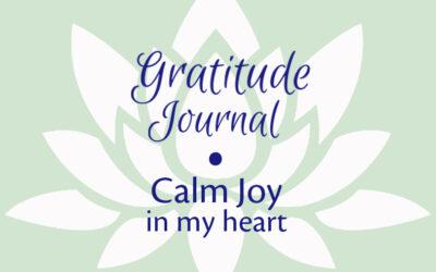 Gratitude Journal • Calm Joy