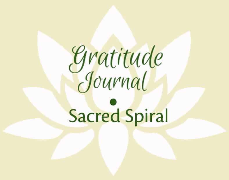 Gratitude Journal – Sacred Spiral